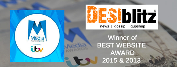 DESIblitz.com wiinner of Best Website award @ Asian Media Awards 2015
